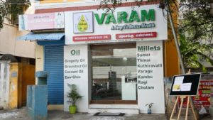varam cold pressed oil - front2 :Wood Pressed Oil,buy cold pressed oil,buy online in Chennai,chekku oil in Chennai,Buy Cold Pressed Oil in Chennai,chekku oil,marachekku ennai,marachekku oil,chekku ennai,Cold